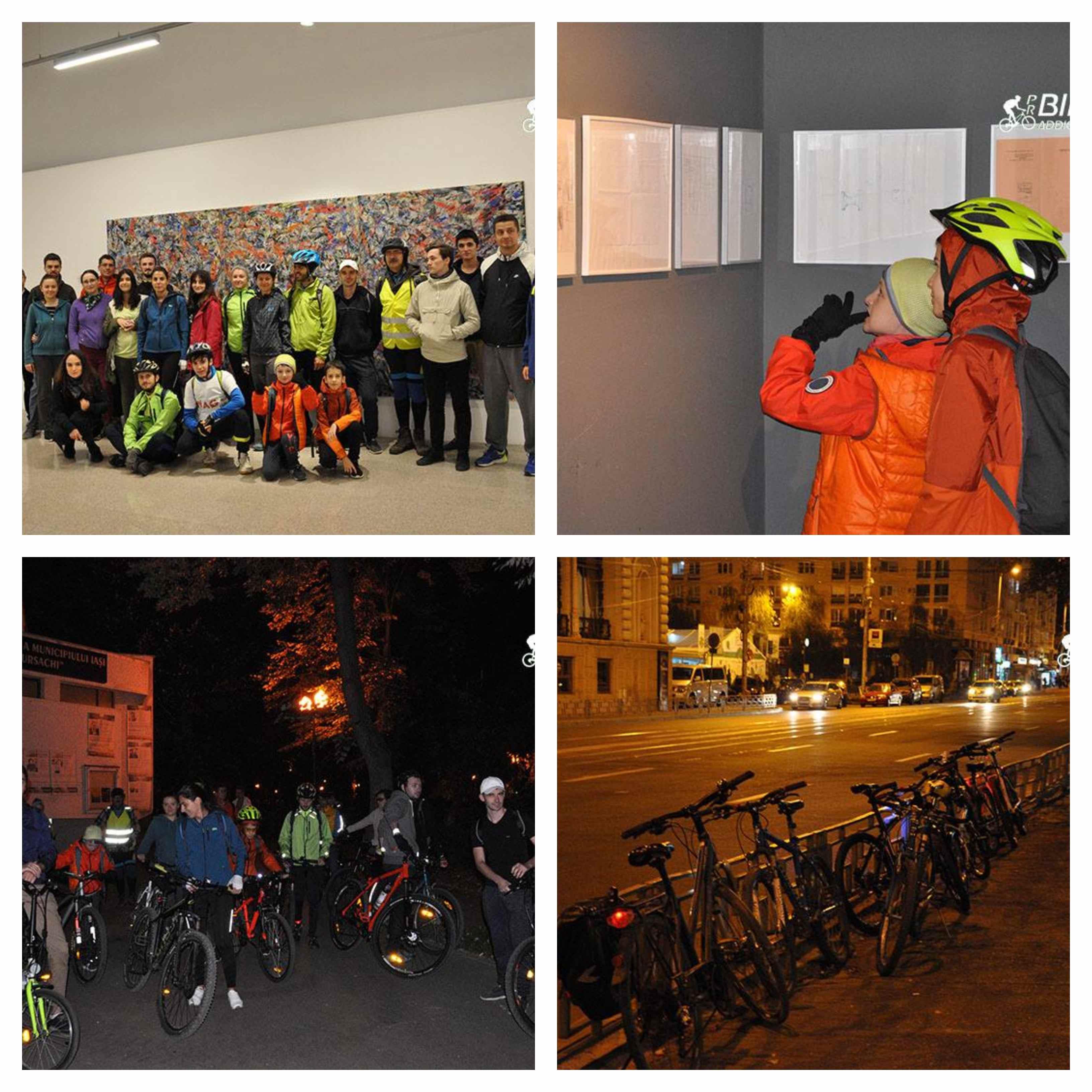 probikeaddiction noaptea alba a galeriilor 2018 cicloturism iasi