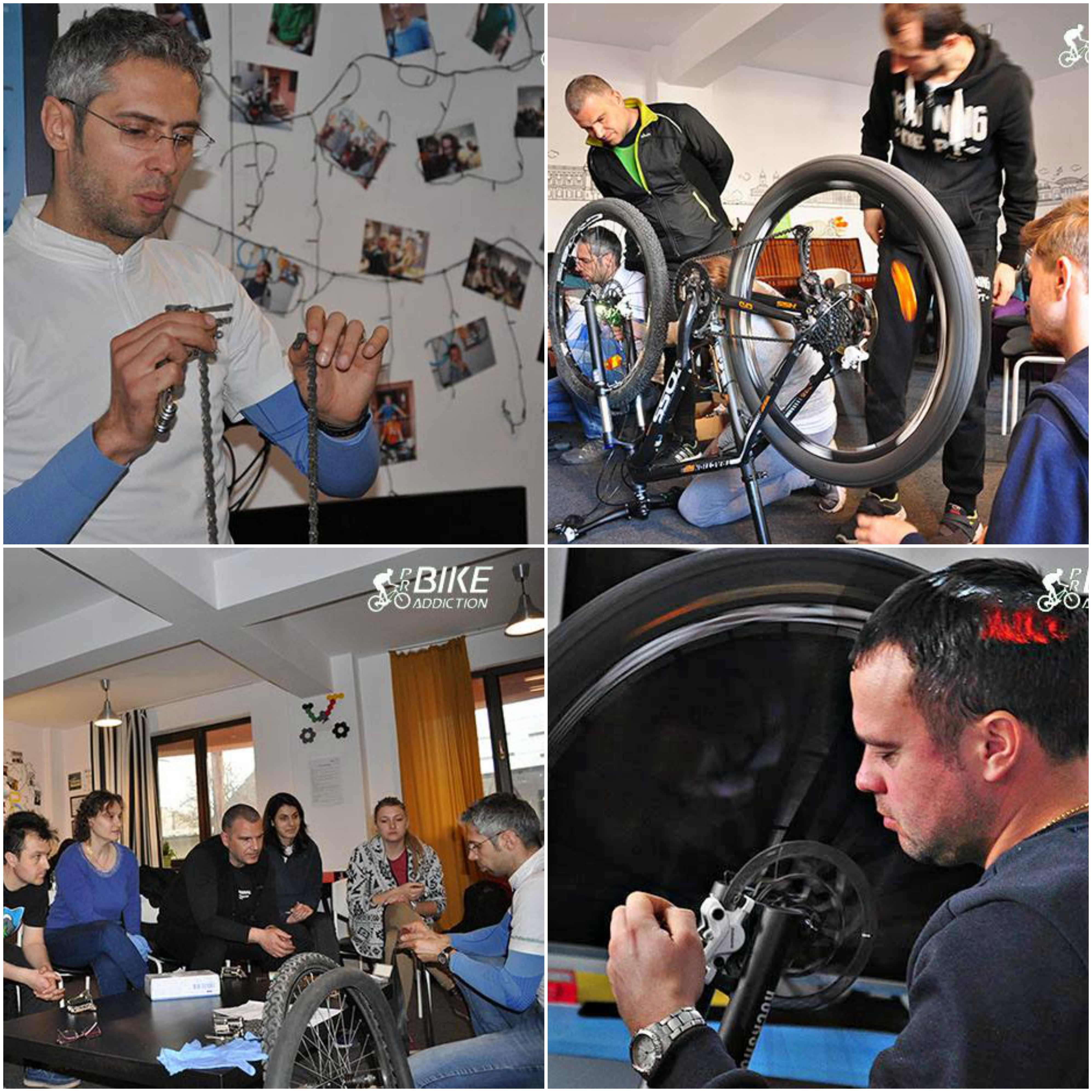 probikeaddiction cursuri mecanica biciclete iasi 2