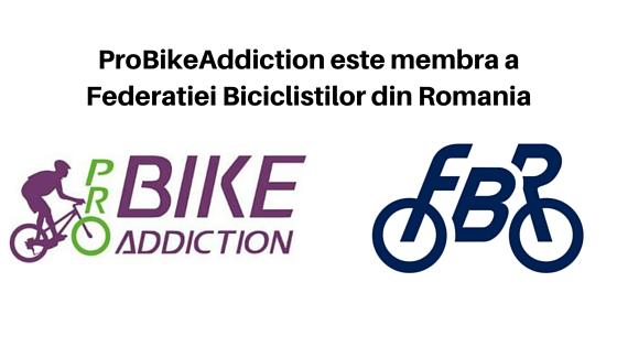ProBikeAddiction este membra a Federatiei Biciclistilor din Romania