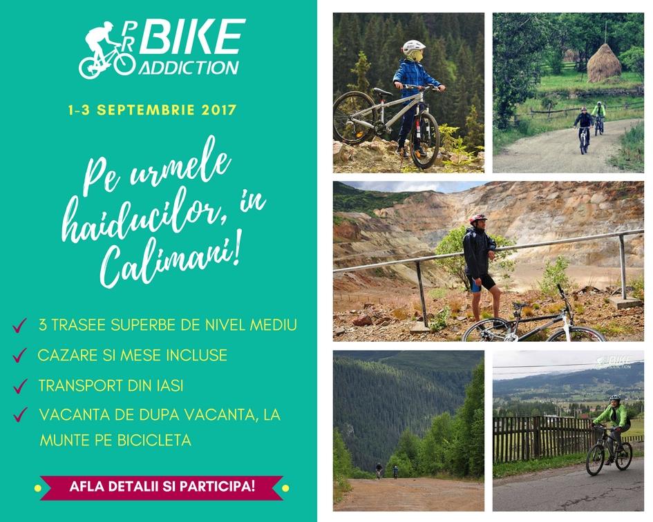 probikeaddiction calimani cicloturism pe urmele haiducilor