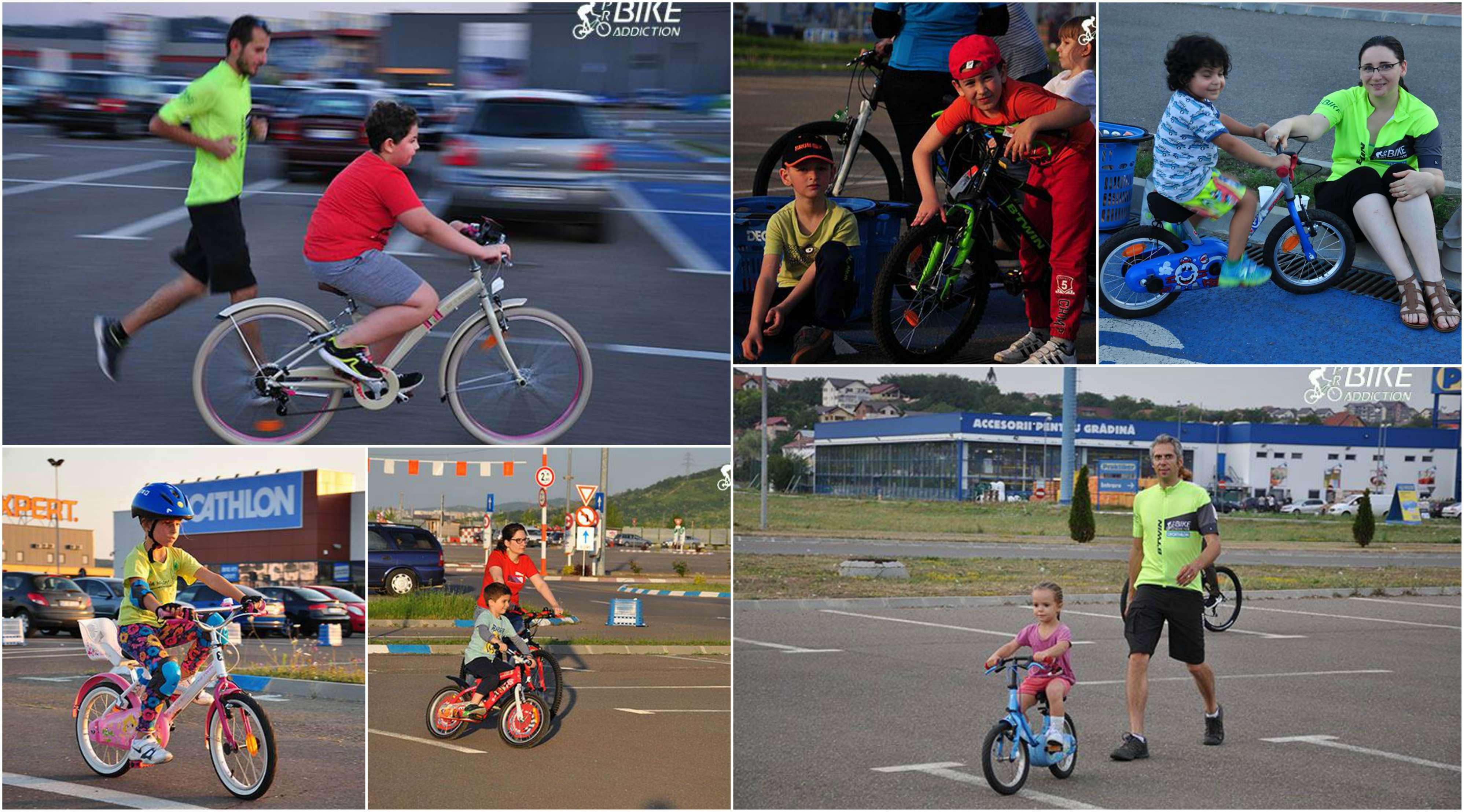 probikeaddiction cursuri de invatat mersul pe bicicleta 2017