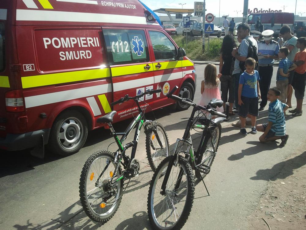 accident biciclisti