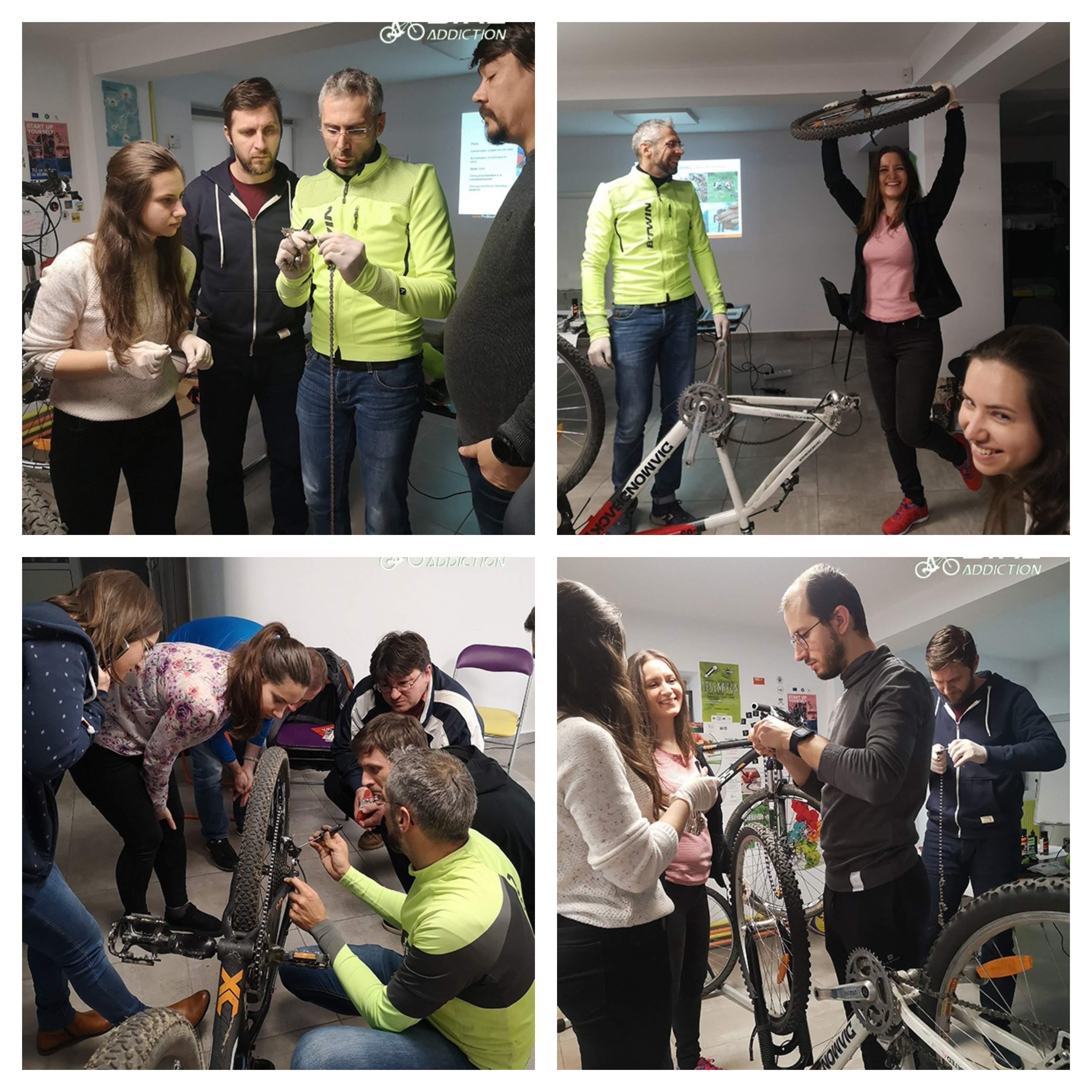 probikeaddiction cursuri mecanica pentru biciclete iasi 2019